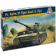 Italeri Model Kit 0286 Tank - Pz. Kpfw. VI Tiger Ausf. E (Tp) - Plastic Model
