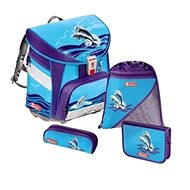 Step by Step Light - Dolphins - School Bag