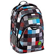 CoocaZoo EvverClevver2 Checkmate Blue Red - Backpack