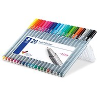 """Triplus 336"" Fineliners Box 20 Colours - Stationery Set"