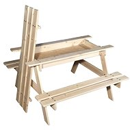 Cubs - Picnic table with storage space - Playset Accessories