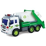 Garbage truck - white container - Toy Vehicle