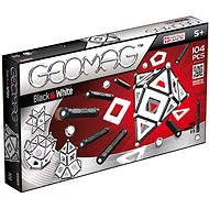 Geomag - Panels black/white 104 pieces - Magnetic Building Set