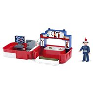 IGRÁČEK Handy - Fire station with firefighter - Game set