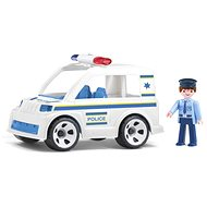 IGRÁČEK Handy - Police car with a policeman - Game set