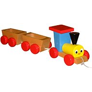 Miva Pull-along Train with Wagons - Game Set