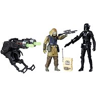 "Star Wars 3.75"" Figurine 2 Pack – Rebel Commando Pao and Imperial Death Trooper - Game set"