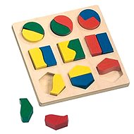 Bino Puzzle - Geometric Shapes - Puzzle