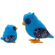 Little Live Pets - Blue Owl with Baby - Figurine