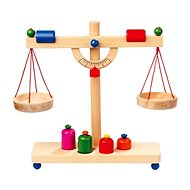 Set of Wooden Food Scales - Game set