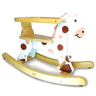 White wooden rocking horse - Rocker