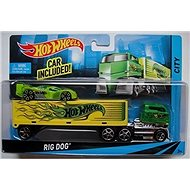 Hot Wheels Truck Crew Carrier - Toy Vehicle