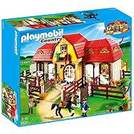Playmobil 5221 Large Horse Farm with Paddock - Building Kit