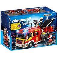 PLAYMOBIL® 5363 Fire Engine with Lights and Sound - Building Kit