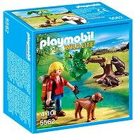 PLAYMOBIL 5562 Beavers with Backpacker - Building Kit