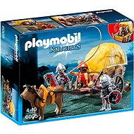 PLAYMOBIL 6005 Hawk Knight with Camouflage Wagon - Building Kit