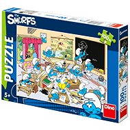Dino Smurfs - At school - Puzzle