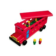 Wooden School Bus - Play Set