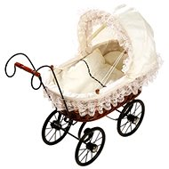 Pram for Antique Dolls - Doll Stroller