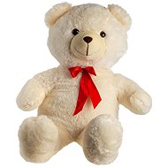 Bear with Bow - Beige - Teddy Bear