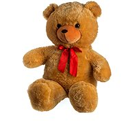 Bear with a bow - light brown - Plush Toy