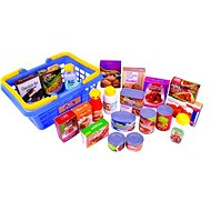 Redbox Shopping Basket with Groceries - Game set
