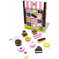 Set of wooden sweets - Game set