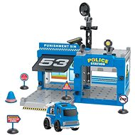 Wiky Police Station with Friction Car - Game Set