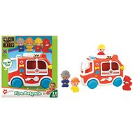 Toy Fire-engine with Sounds - Toy Vehicle