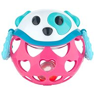 Canpol babies Pink Dog - Baby Rattle
