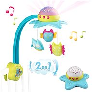 Smoby Cotoons Musical Carousel 2-in-1 - Cot Toy