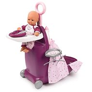 Smoby Baby Nurse Nursery Suitcase 3-in-1 - Doll Accessory