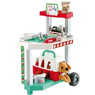 Ecoiffier Veterinarian's Trolley with Dog - Game Set