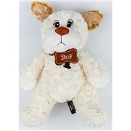 Dog white 38cm - Plush Toy