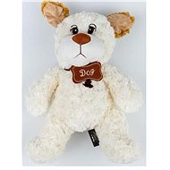 Dog white 50cm - Plush Toy