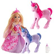 Barbie Princess Chelsea and Foal of the Unicorn