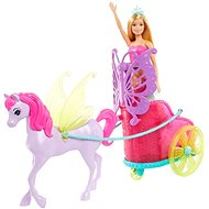 Barbie Princess in a Carriage and Fairytale Horse - Doll