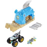 Hot wheels Monster trucks big trouble blue - Game Set