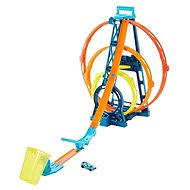 Hot Wheels Track Builder Triple Loop - Game Set