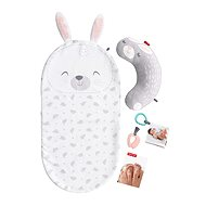Fisher-price Baby Bunny Massage Blanket - Toddler Toy