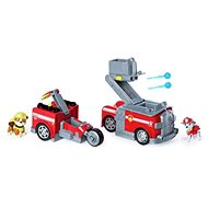 Paw Patrol Two Rescue Vehicles in One Marshall - Game Set