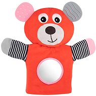 Canpol babies Cuddly Hand Puppet with a Red Teether