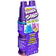 Kinetic Sand Pack of 3 pastel-coloured crucibles - Creative Kit