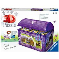 Ravensburger 111732 Storage Box with Lid Horse - Puzzle