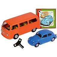 VW beetle + Kovap minibus set - Metal Model