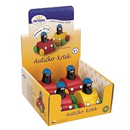 Detoa Whistling mole in a toy car - Wooden Toy
