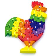 3D Puzzle - Rooster with letters - 3D Puzzle