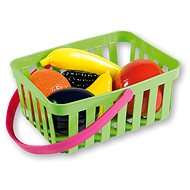 Androni Shopping basket with vegetables - 10 pieces, green - Set
