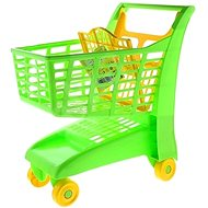 Androni Shopping trolley with seat - green - Toy Cart