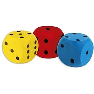 Androni Soft cube - size 16 cm, blue - Children's Ball